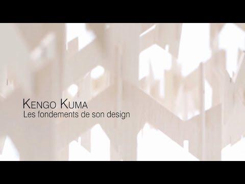 KENGO KUMA - Les fondements de son design avec le projet de la Biennale de Rabat au Maroc