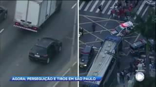 PM persegue e prende suspeitos de matar idoso em São Paulo