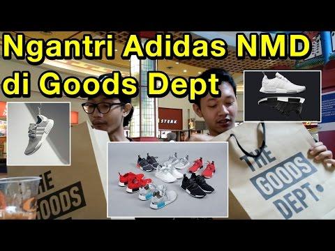 Ngantri Adidas NMD di Goods Dept. kenapa sepatu ini hype di Indonesia?