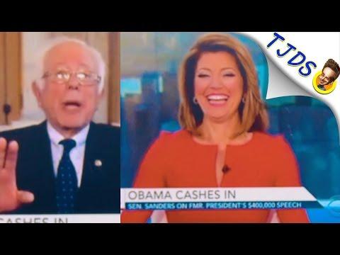 CBS Hosts Mock Bernie Sanders For Not Taking Wall Street Money