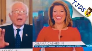 CBS Hosts Mock Bernie Sanders For Not Taking Wall Street Money