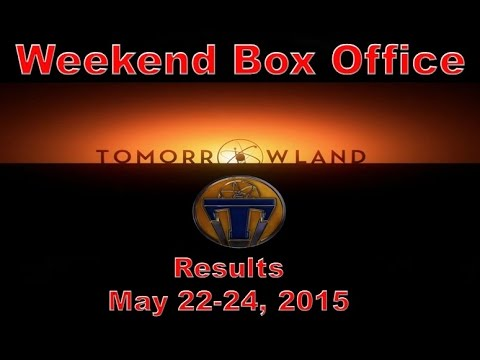 Weekend box office results may 22 24 2015 youtube - Movie box office results this weekend ...