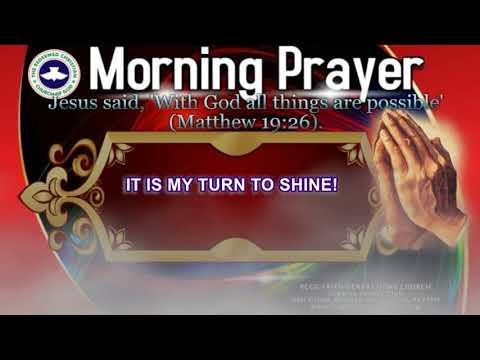 MORNING PRAYER- It is My turn to Shine! - YouTube