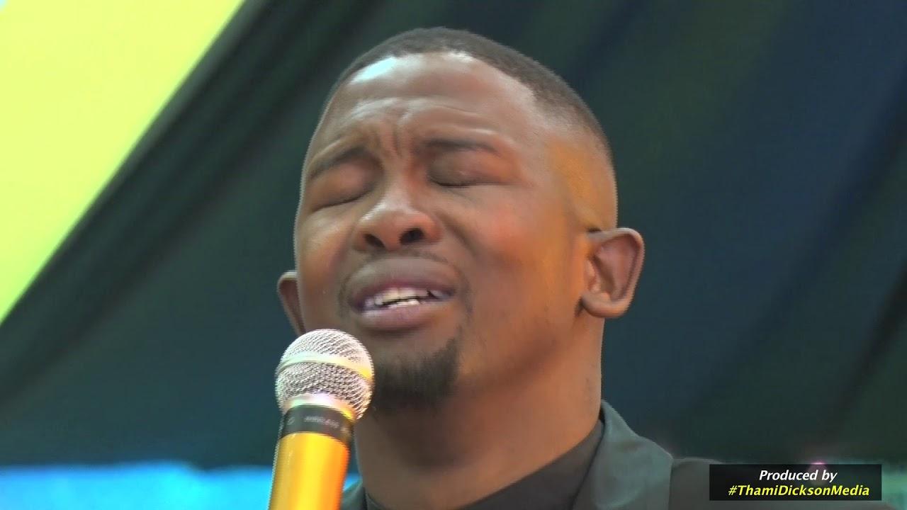 Gospel artist, Bulelani Koyo's live performance at God is Love revival service in Port Elizabet
