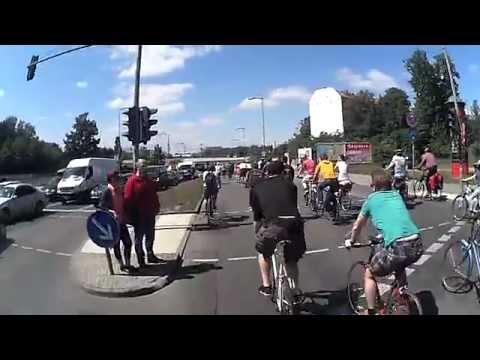 ADFC Fahrradsternfahrt 2014 - Autobahn und West-Berlin