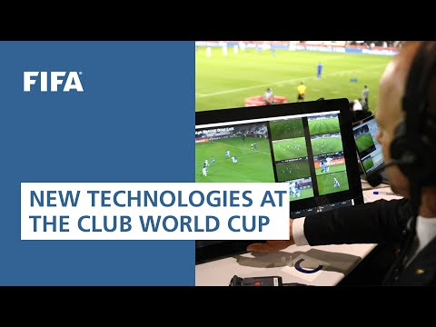 First testing event of new technologies at the FIFA Club World Cup 2019