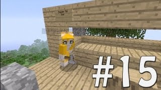 Minecraft Xbox - Sky Island Challenge - Tiki Bar! [15]