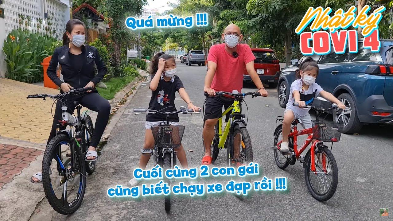 NHẬT KÝ CÔ VI 4| Cả nhà đều vui khi Cô Út cuối cùng cũng đã biết chạy xe đạp !!!