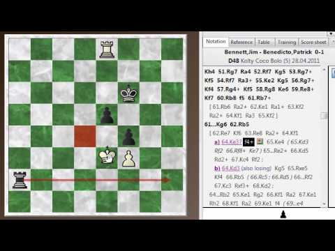 Chess Basics #23: Rook and pawn endings - A practical example