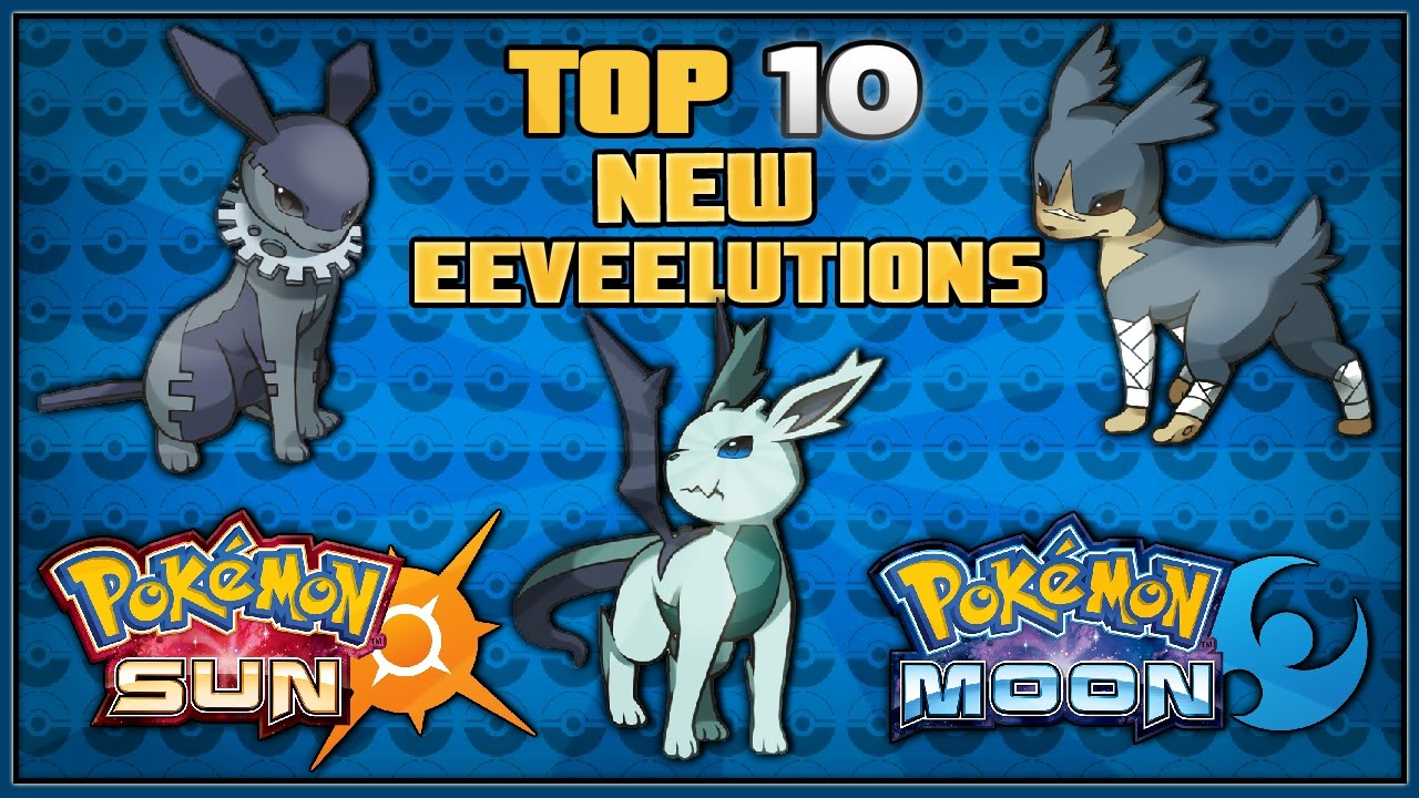 pokemon sun and moon new eevee evolution