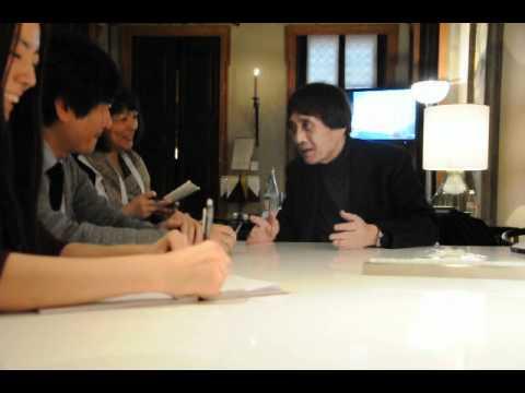 TADAO ANDO VENINI JAPANESE INTERVIEW IN MILANO