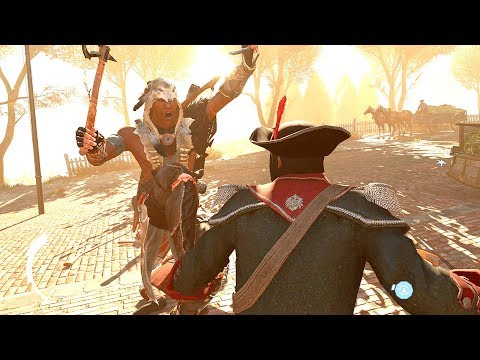 Assassin's Creed 3 Remastered Tomahawk Axe Rampage Ultra Settings