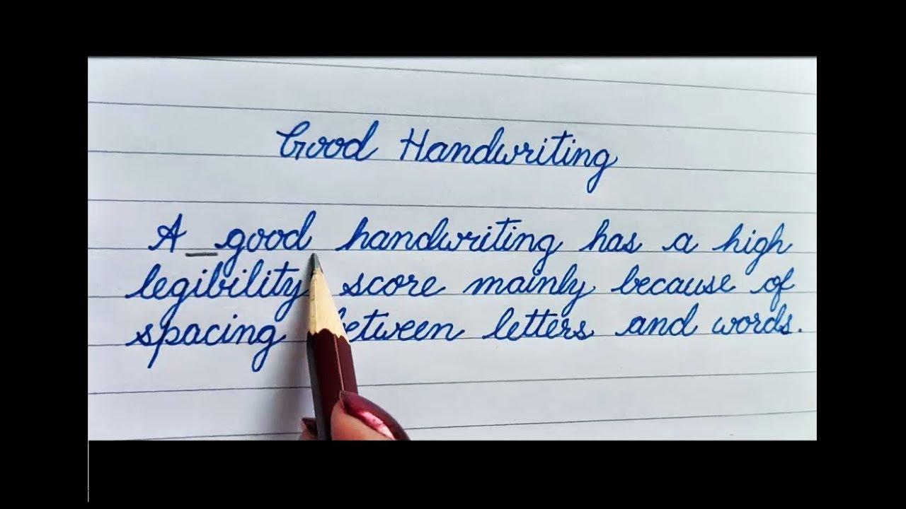 How to improve Handwriting  Good handwriting  Handwriting Practice