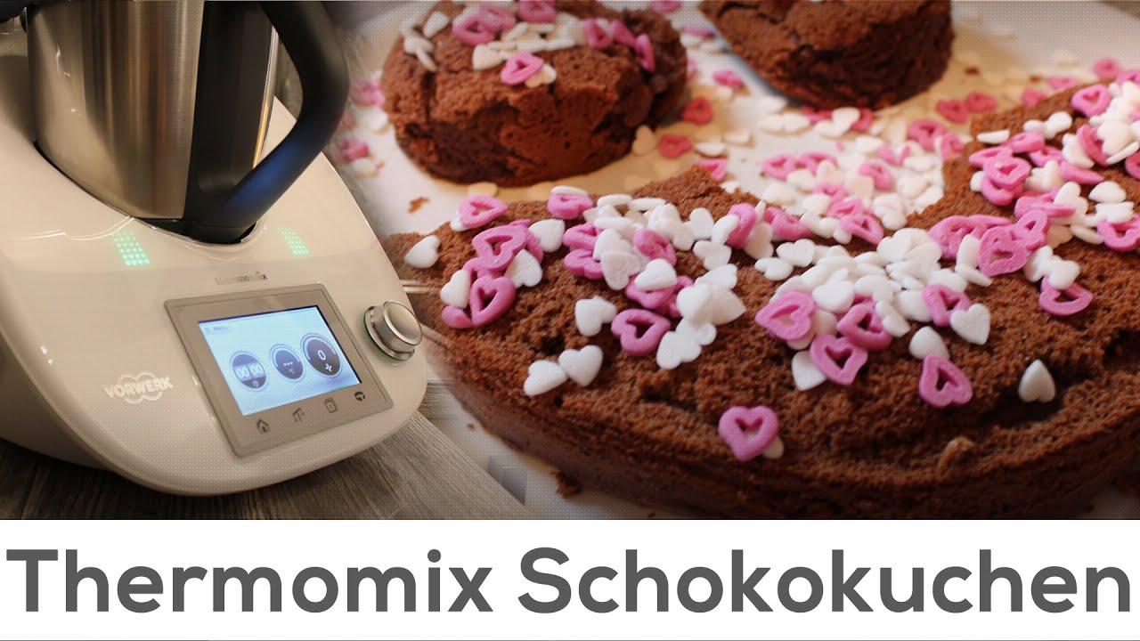 Thermomix Schokokuchen Schnell Gemacht Und Lecker Tm5 Youtube