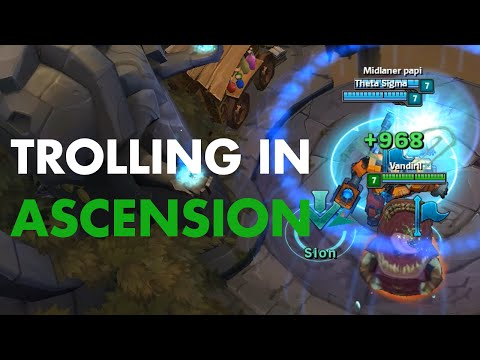 Trolling in Ascension