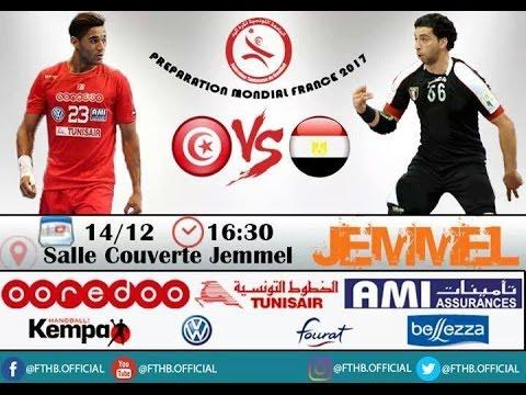 Amical (handball) : Tunisie - Égypte