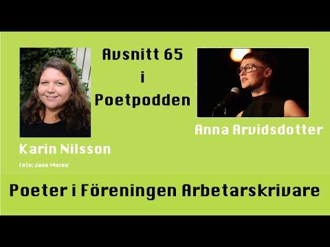 Poddtrailer för Poeter i Föreningen Arbetarskrivare avsnitt 65 i Poetpodde
