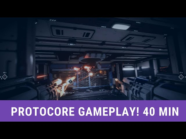 PROTOCORE Alpha Gameplay 40min Demo - No commentary -