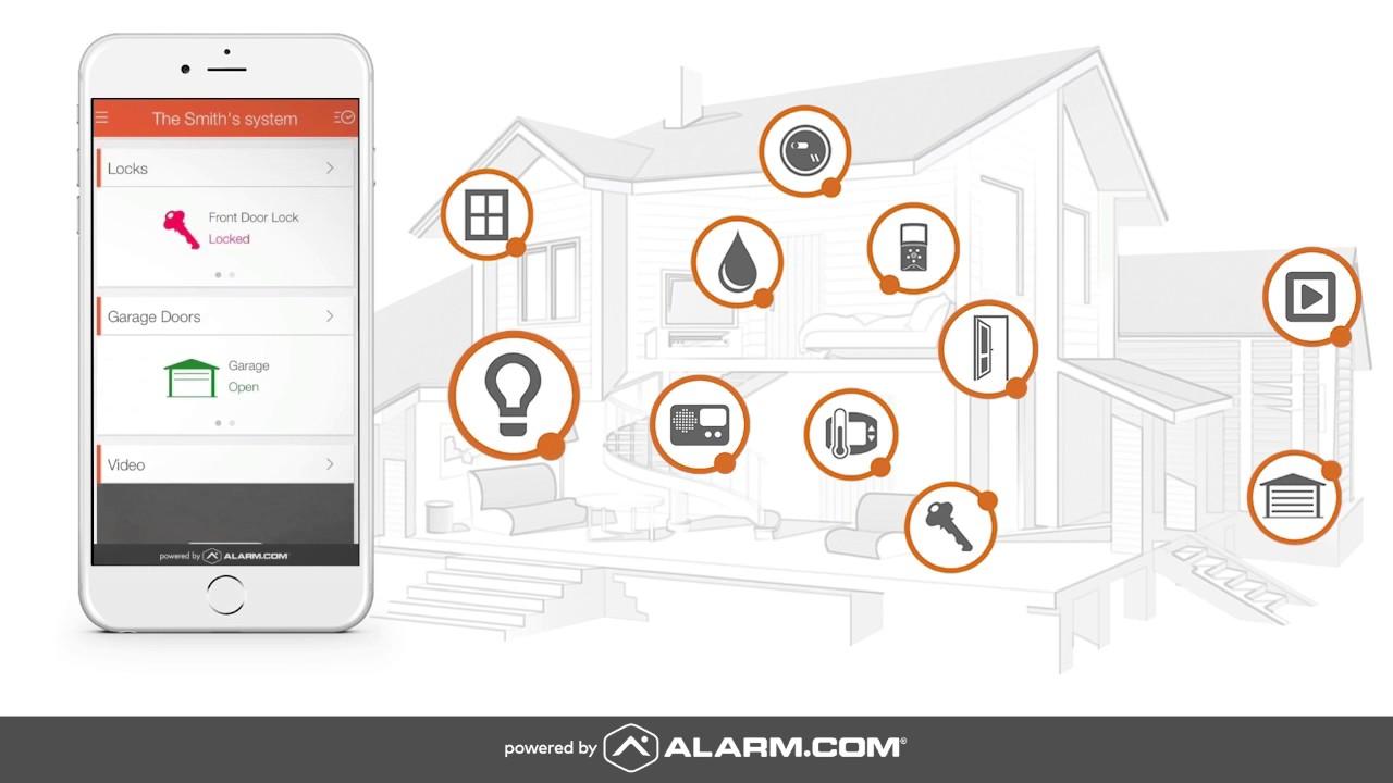 Alarm com Wi-Fi Doorbell Camera - Skybell HD Edition