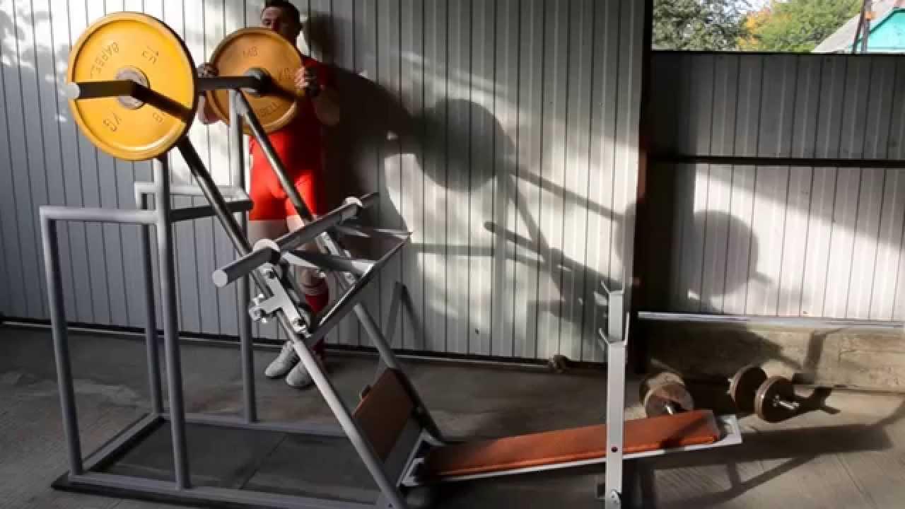Многофункциональный силовой тренажер для дома своими руками