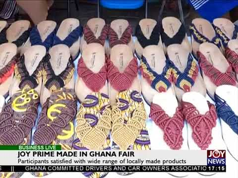 Joy Prime made in Ghana fair - Business Live on JoyNews (21-