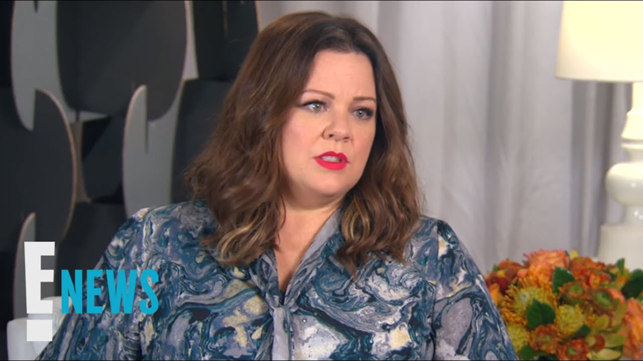 Melissa Mccarthy Talks Plus Size Label Celebrity Sit Down E News