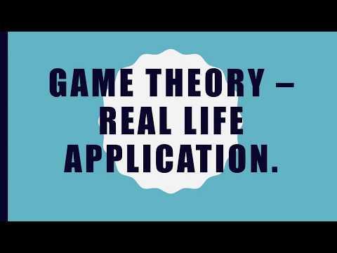 Real Life Game Theory Problem BirminghamUGGameTheory2017.