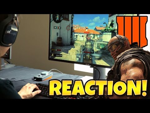 CALL OF DUTY BLACK OPS 4 REVEAL TRAILER REACTION + THOUGHTS