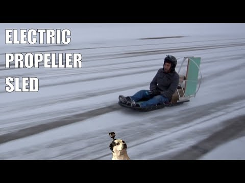 DIY Snow Air Sled