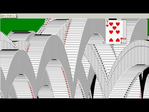 solitaire win youtube