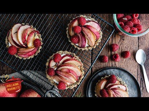 tarte-aux-pèches-healthy,-comment-faire-?-recette-facile-et-rapide