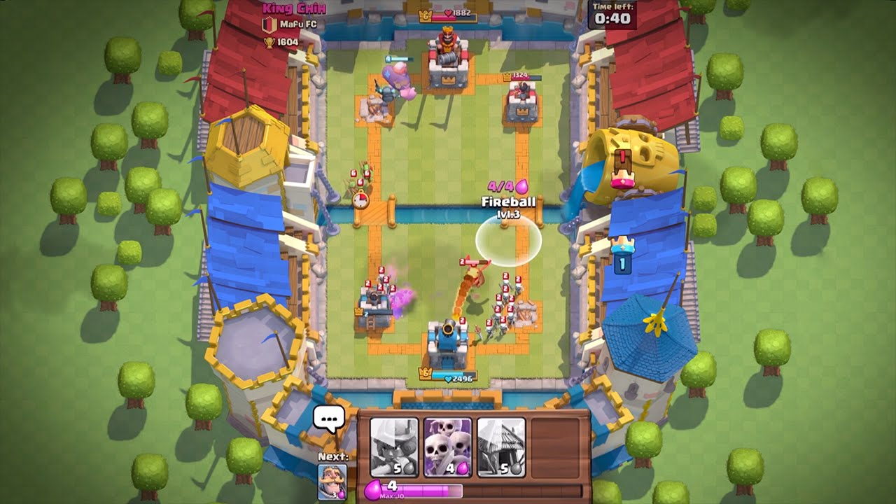 First look at Clash Royale