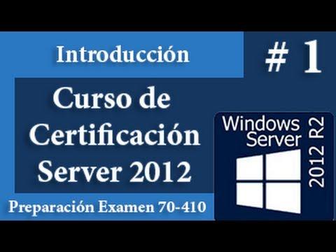 Introducción a Windows Server 2012