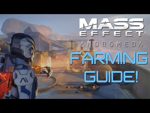 Mass Effect: Andromeda: How To FARM RESOURCES For Weapon/Armor Crafting! (GUIDE)