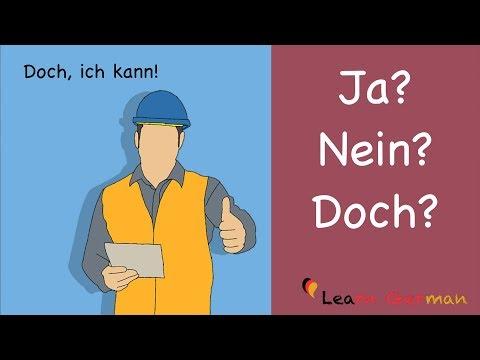 Learn German | German Grammar | ja nein oder doch? | A1