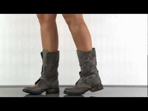 a9c16f864bf Steve Madden Banddit in Stone Leather - YouTube
