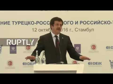 LIVE: Novak takes part in Russian-Turkish business forum in Instanbul