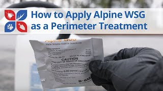 How to Apply Alpine WSG Around the Perimeter of Your Home