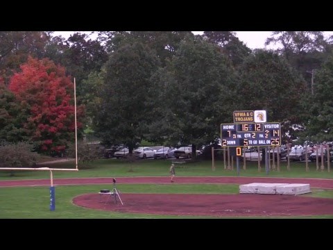 Valley Forge Military College Football vs Monroe College 10.5.18