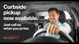 Cellular Sales: Curbside Service