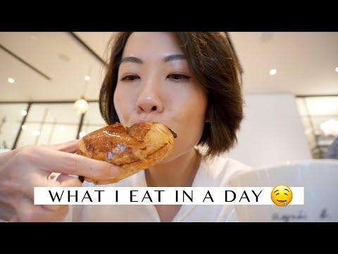 Vlog - 半上班日食咩好 What I eat in a day (vegetarian restaurant & meals)