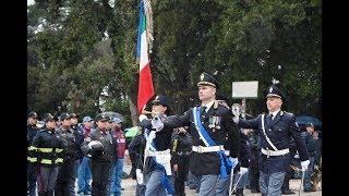 La cerimonia del 167° anniversario della fondazione della Polizia di Stato