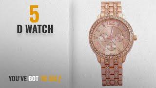 Top 10 D Watch [2018]: Geneva Analog RoseGold Dial Women's Watch-g8027_D