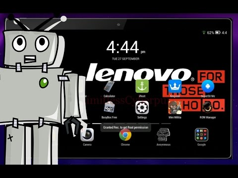 2017)How to install custom recovery on Lenovo Tab Without PC