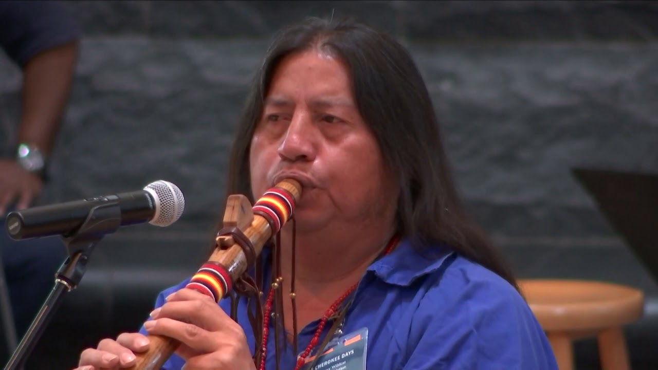 Cherokee Days 2019 – Native American Flute by Tommy Wildcat 1