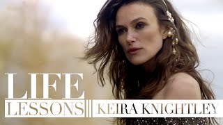 Keira Knightley on confidence, criticism and love: Life Lessons | Bazaar UK