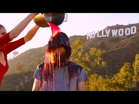 The Rubble Bucket Challenge + The Borscht Challenge In Hollywood, USA