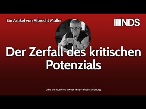 Der Zerfall des kritischen Potenzials | Albrecht Müller | NachDenkSeiten-Podcast | 14.02.2020
