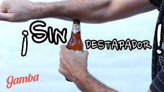 Formas de destapar una cerveza con Estilo #2 - Ideas Originales