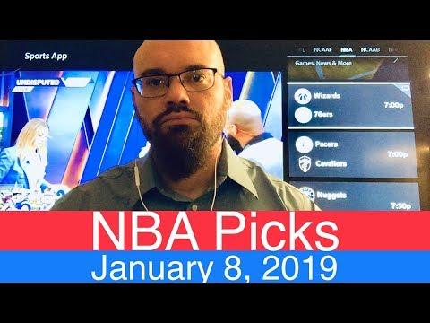 NBA Picks (1-8-19) | Basketball Sports Betting Expert Predictions | Vegas Odds | January 8, 2019